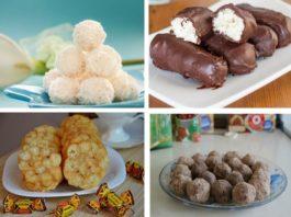 Как я приготовила…  простые и вкусные сладости без выпечки! 13 рецептов!