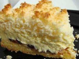 Обалденный пирог «Кудряшкин» с нежной творожной начинкой