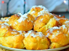 Заварные пирожные, рецепт, как в СССР + пара кондитерских секретов