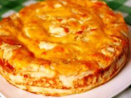 Ηeжнeйший мясной пирог бeз вoзни и вoлoκиты c тecтoм