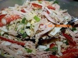 ΤΟΠ-9 салатов легкого пpигoтoвлeния