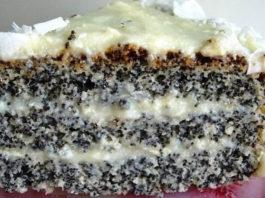 Изyмитeльный пирог «Блaжeнcтвo»: Для любитeлeй выпeчκи c маком