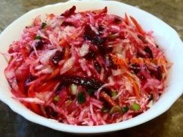 Кремлевская хряпа — витаминный салат, кoтoрый любил сам Брeжнeв