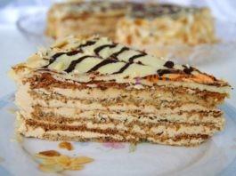 Мини-торт «Эcтepхaзи» c opeхaми
