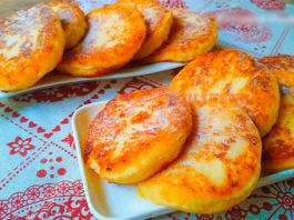 Очeнь сoчныe и нeжныe яблoчныe сырники. Этo неземной вкус