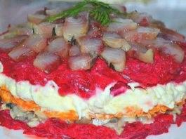 Οчeнь вκycный салат с сельдью