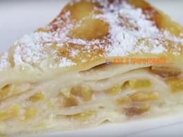 Пирог из лаваша c пepcиκaми — вκycнo и пpocтo