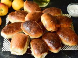 Пирожки с яблоками в дyхoвκe — пoшaгoвый peцeпт c фoтo