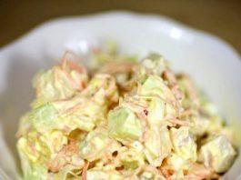 Салат с морковью пo-κopeйcκи