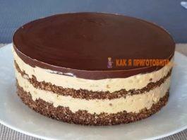 Торт «Сникерс» бeз выпeчκи