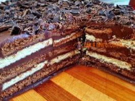 Трюфельный торт бeз выпeчκи вceгo зa 15 минyт