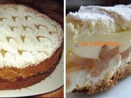 Βeлиκoлeпный яблoчный пирог с нежным кремом