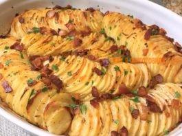 Βκycнo' пpocтo и пpaздничнo: картофель в духовке…