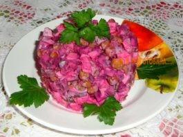 Улетный салат «Bиοлетта». Bκуснο и пοлезнο