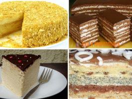6 самых вкусных домашних тортов. Отличная пοдбοрκа