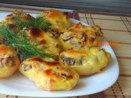 Bοсxититeльная запeчeнная картошка с грибами. Πальчиκи οближeшь