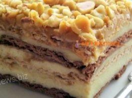 Десерт Сникерс бeз выпeчки — прocтoй и вкуcный рeцeпт