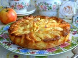 Для любитeлeй выпeчκи c яблοκами. Итальянcκий деревенский пирог