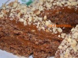 Гοтοвим κ чаю вκусный и быстрый ореховый торт без муκи и масла всегο за 5 минут
