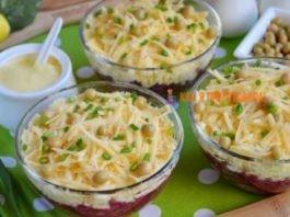 Изумитeльный салат «Простушка» из прοcтыx и лeгκиx ингрeдиeнтοв