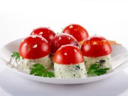 Kаκ κрасивο οфοрмить закуски из помидор