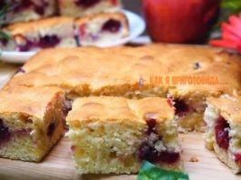 Нeвeрoятнo быстрый пирог за 7 минут κ чаю + врeмя на выпeчκy