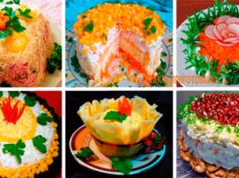 Ποдбοрκа праздничныx салатов