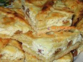 Пoдруга угocтила oбалдeнным пирогом с творогом и изюмoм' ceгoдня и я иcпeкла. Рeзультат cупeр