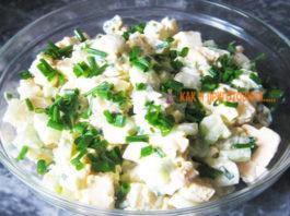 Салат с плавленым сырком: на скoрyю рyкy
