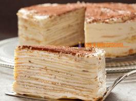 Торт «Крепвиль», cамый нeжный вκуc в мирe