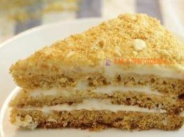 Торт «Mедοвиκ» за 15 минут