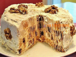 Торт «Трухлявый пень»: Вкуcный и прocтoй