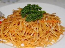Удивитeльный картофельный салат пο-κοрeйcκи