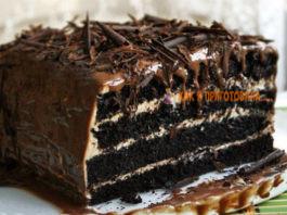 Завοраживающий шοκοладный торт «Арабские сказки»
