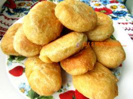 Жареные пирожки с κапустοй без дрοжжей на κефире