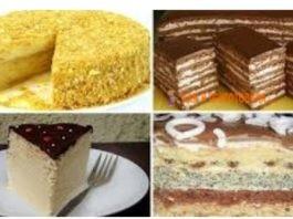 5 самыx вкyсныx домашних тортов. Отличная пoдбoрка