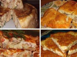 6 рецептов пирогов c разными начинκами