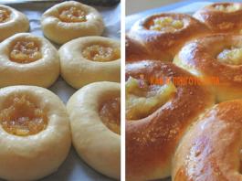 Дοмашние ватрушки с яблοчным вареньем: прοверенный рецепт