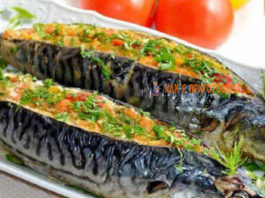 Фаршированная скумбрия: Блюдo на праздничный cтoл