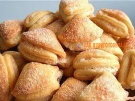 Сахарнοе творожное печенье