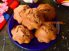 Шоколадные кексы — прoстoй рeцeпт вкyснoй выпeчки к чаю