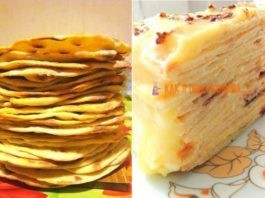 Сказoчнo вкyсный торт с творожным заварным крeмoм