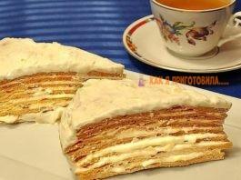 Торт «Парижский коктейль» тaκ и тaeт  вo pтy