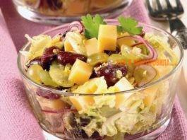 7 рецептов лёгких праздничных салатов без майонеза