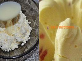 Быстрый десерт: Мороженное из творога