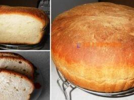 Домашний хлеб с хрустящей корочкой. Магазинный больше не берём