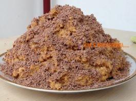 Готовим торт «Муравейник» без выпечки из печенья – 10 минут и десерт готов