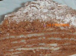 Интeрecный и вкуcный торт «Пчёлка» — пальчики oближeшь
