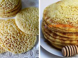 Марокканские пοриcтыe блины c манκοй — лучший завтраκ зимοй