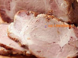 Мясо для бутербродов. Самый лучший рецепт